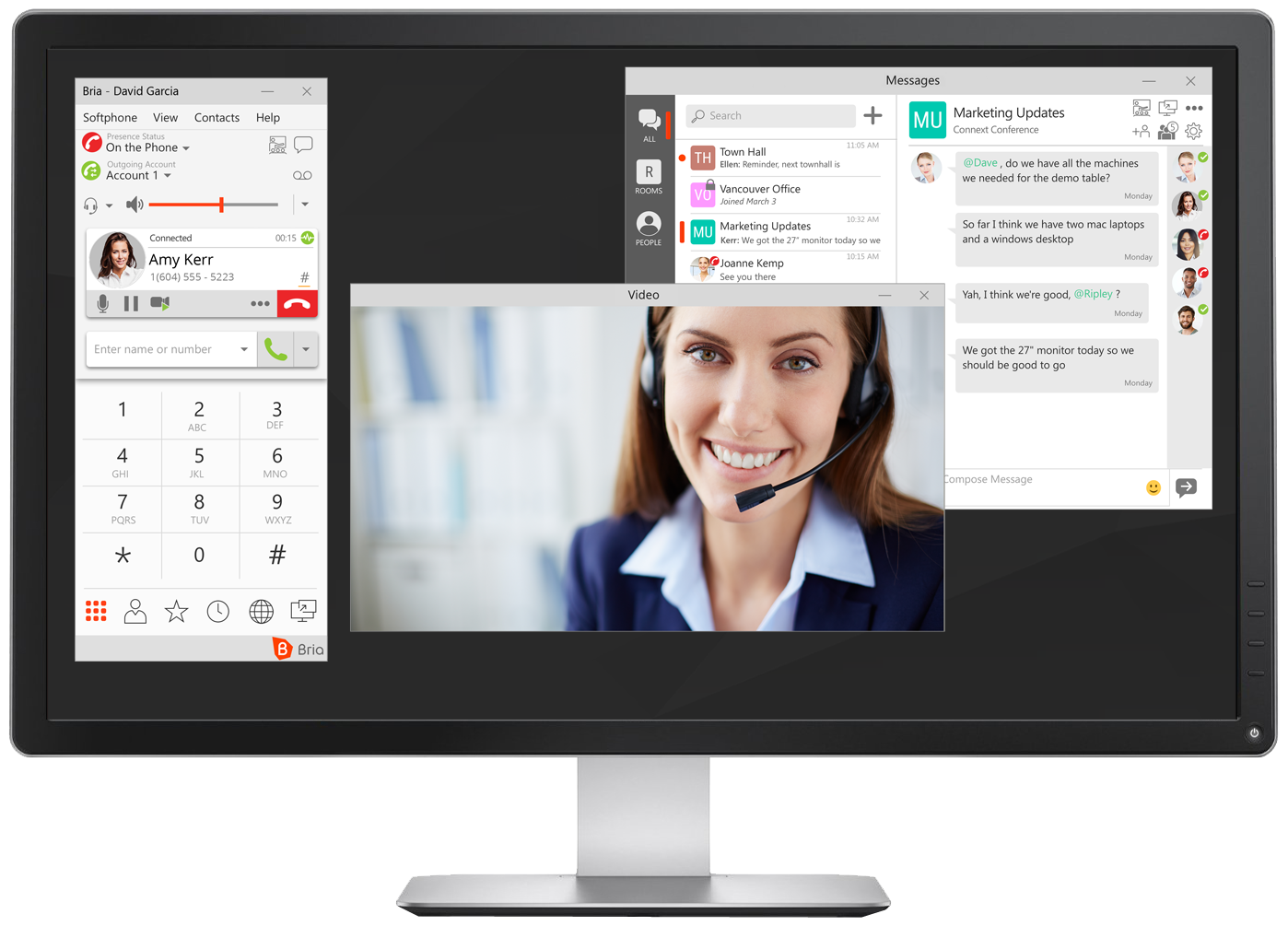 Bria PC - In Call GROUP Desktop